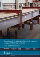 Assessment of demountable steel-concrete composite flooring systems