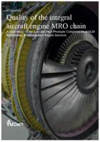 Quality of the integralaircraft engine MRO chain - A case study on the Low and High Pressure Compressors at KLM Engineering & Maintenance Engine Services