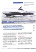 Pleasure yacht of passenger ship? Designing a luxury superyacht in compliance with the passenger yacht code