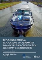 Exploring potential implications of automated inland shipping on the Dutch waterway infrastructure
