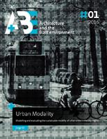 Urban Modality: Modelling and evaluating the sustainable mobility of urban areas in the city-region