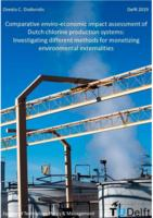 Comparative enviro-economic impact assessment of Dutch chlorine production systems: Investigating different methods for monetizing environmental externalities