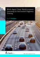 Multi-Agent Deep Reinforcement Learning for Automated Highway Driving