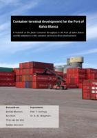 Container terminal development for the Port of Bahía Blanca
