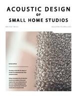 Acoustic Design of Small Home Studios