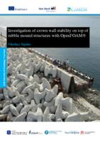 Investigation of crown wall stability on top of rubble mound structures with OpenFOAM®
