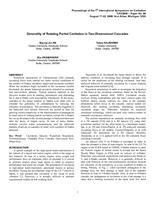 Generality of rotating partial cavitation in two-dimensional cascades