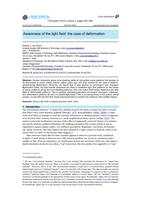 Awareness of the light field: The case of deformation