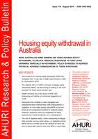 Housing equity withdrawal in Australia