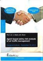 Agent-based safety risk analysis of air traffic management