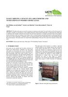 Load carrying capacity of large mortise and tenon joints in wooden mitre gates