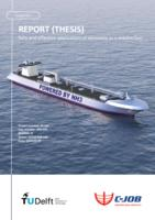 Safe and effective application of ammonia as a marine fuel