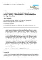 A Methodology to Support Decision-Making Towards an Energy-Efficiency Conscious Design of Residential Building Envelope Retrofitting