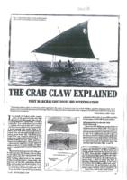 The Crab Claw explained