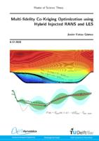 Multi-fidelity Co-Kriging Optimization using Hybrid Injected RANS and LES