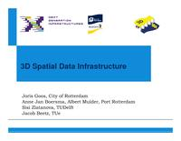 3D Spatial Data Infrastructure