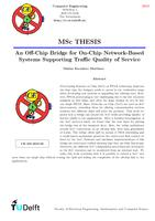 An Off-Chip Bridge for On-Chip Network-Based Systems Supporting Traffic Quality of Service