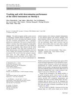 Tracking and orbit determination performance of the GRAS instrument on MetOp-A