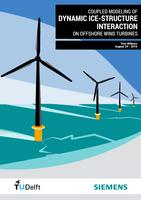 Coupled modeling of dynamic ice-structure interaction on offshore wind turbines