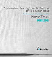 Sustainable Photonic Textiles for the Office Environment