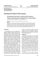 Estimating port network traffic capacity