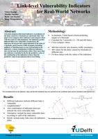 Link-level vulnerability indicators for real-world networks (poster)