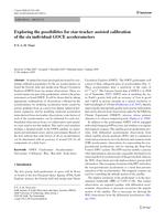 Exploring the possibilities for star-tracker assisted calibration of the six individual GOCE accelerometers