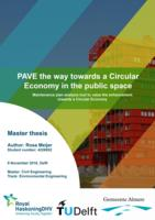 PAVE the way towards a Circular Economy in the public space