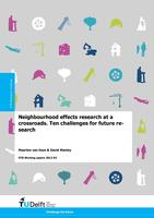 Neighbourhood effects research at a crossroads: Ten challenges for future research