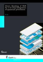 Direct Bonding of NbN for 3-D Chip Integration of quantum processors