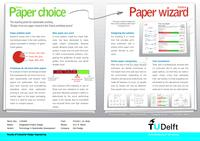 Paper choice - the starting point for sustainable printing: Design of an Eco Paper Wizard for Dutch printshops