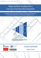 Material Flow Analysis for a Circular Economy Development: A Material Stock Quantification Method of Urban Civil Infrastructures with a Case Study of PVC in an Amsterdam Neighbourhood