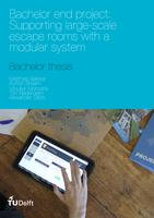 Supporting large-scale escape rooms with a modular system