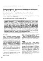 Purification and Partial Characterization of Thiosulfate Dehydrogenase from Thiobacillus-Acidophilus