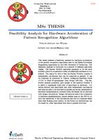 Feasibilty Analysis for Hardware Acceleration of Pattern Recognition Algorithms