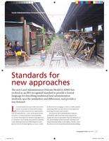 Standards for new approaches