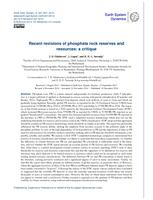 Recent revisions of phosphate rock reserves and resources: A critique