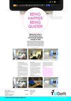 Being happier being quieter; reducing noise in the Intensive Care Unit through behavior change of staff