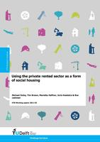 Using the private rented sector as a form of social housing