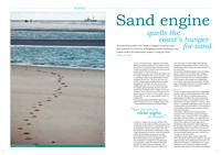 Sand engine quells the coast's hunger for sand