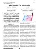 Robust optimization of oil reservoir flooding