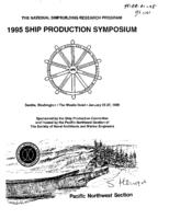 1995 Ship Production Symposium