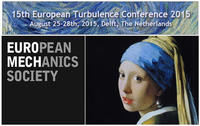 15th EuropeanTurbulence Conference 2015 (ETC15)