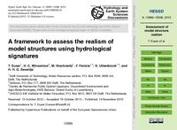 A framework to assess the realism of model structures using hydrological signatures